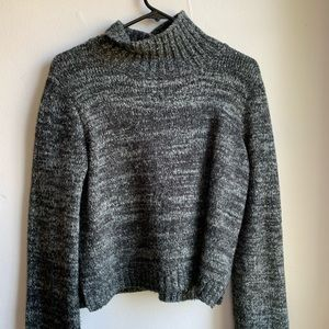 Knit Turtleneck Sweater   Zara